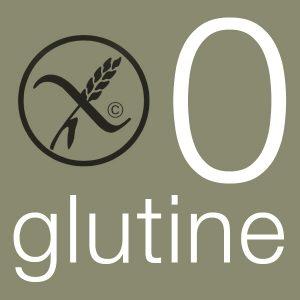 0 glutine logo