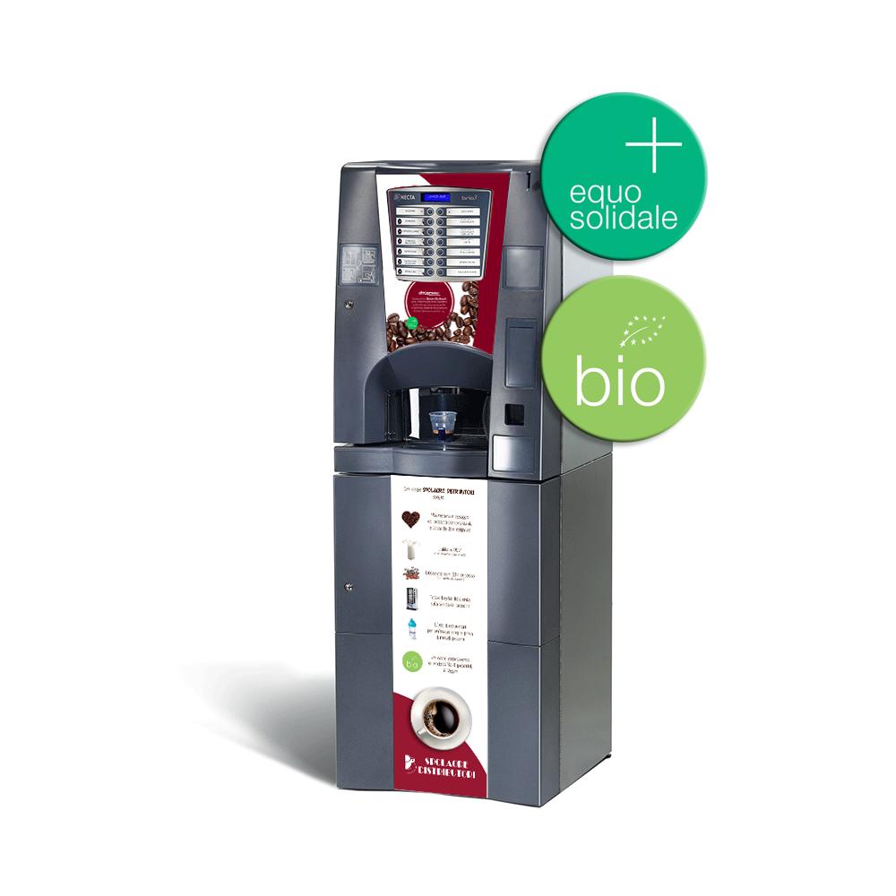 distributore automatico bevande calde equosolidali