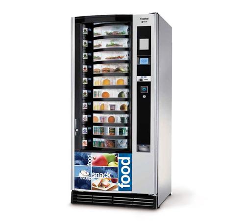 distributore bevande fredde e snack